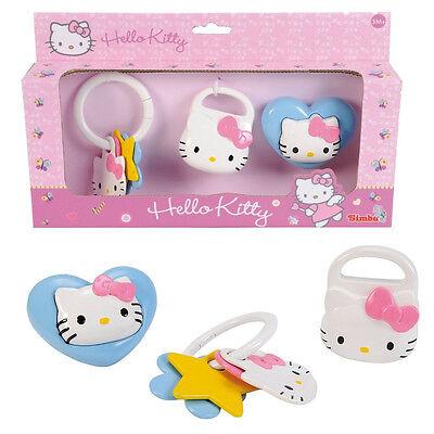 Baby Rassel Set Simba Toys Hello Kitty 3-er Rasselset original verpackt & Neu