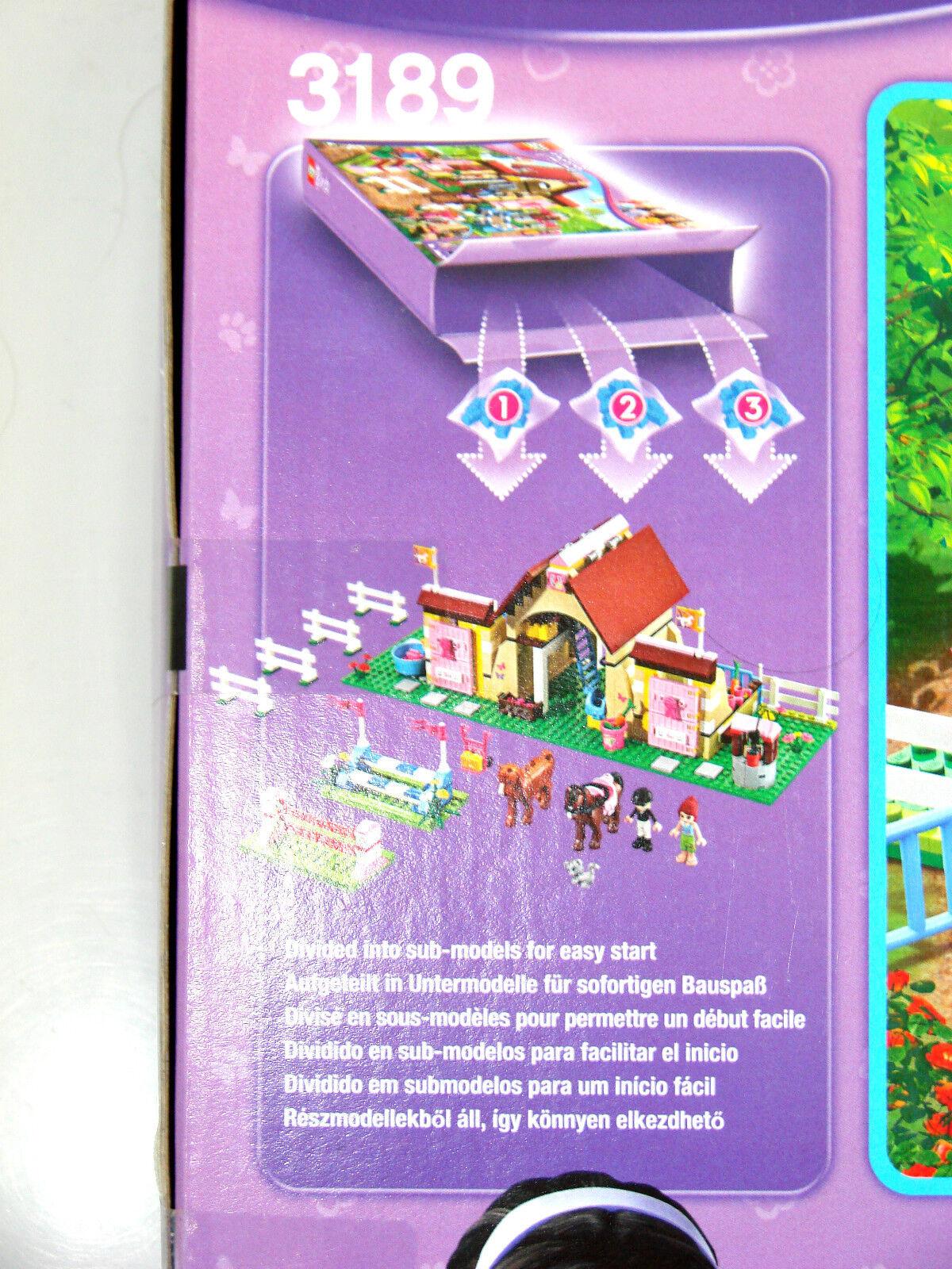 LEGO® Friends 3189 Pferdestall NEU NEU NEU OVP_Heartlake Stables NEW MISB NRFB 82fded