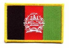 Flaggen Aufn/äher Patch Afghanistan Fahne Flagge NEU