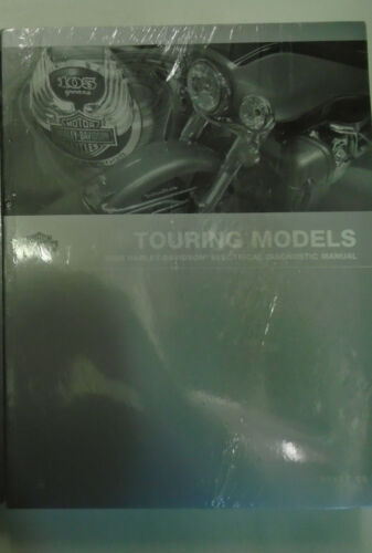 2008 Harley Davidson TOURING MODELS Electrical Diagnostic Shop Service Manual