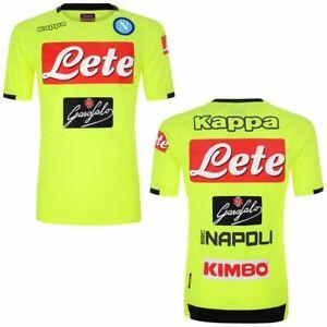 Kappa-T-shirt-sport-Active-Jersey-Man-ABOUO-2-NAPOLI-Soccer-sport-CNA-Shirt