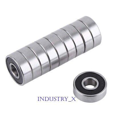 20x47x14mm 6204RS Bearings 6204-2RS C3 Quality Sealed Ball Bearing Ten