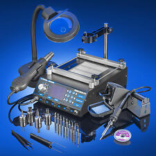 X-Tronic Model 5040-XR3 Soldering Iron Station, Hot Air & and Preheating Station