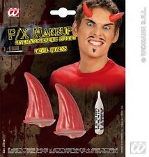 Efecto de película Demonio Diablo Cuernos Roja Halloween Vestido De Lujo