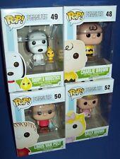 Funko POP PEANUTS 48 Charlie Brown 49 Snoopy Woodstock 50 Linus Pelt 52 Sally