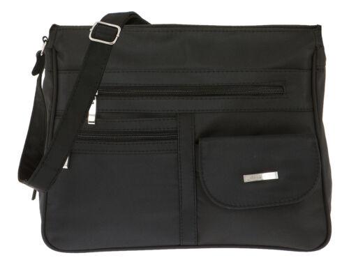 Handtasche ALESSANDRO MADRID Schultertasche Damentasche Microfaser Tasche WAHL