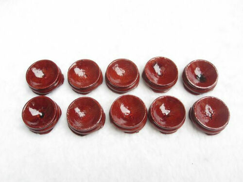 100PCS Wooden Stand Display 20-50mm Sphere Crystal Ball Eggs Minerals Polished