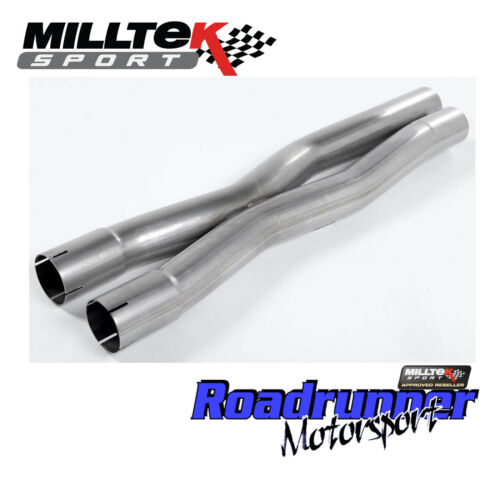 MSAU594 Milltek X-Pipe Audi S4 /& S5 Exhaust B8 /& B8.5 3.0 V6 X Pipe Assembly