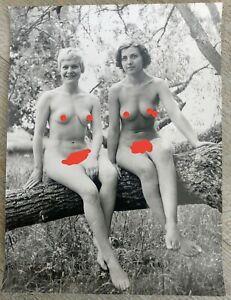 Photo-Naked-Artistic-For-La-Magazine-Bob-Harvest-1962-Novitiate-Nudiste-No30