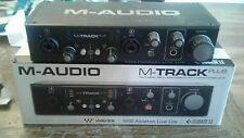 M-Audio M-Track 2 channel interface