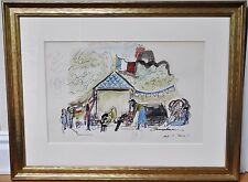 LUDWIG BEMELMANS~ORIGINAL WATERCOLOR PAINTING~ MADELINE AND THE GYPSIES, CONCEPT