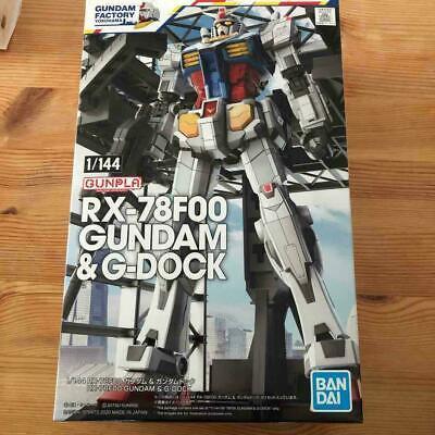 Gundam Factory Yokohama 1//144 RX-78F00 /& Dock Plastic Model Premium Bandai
