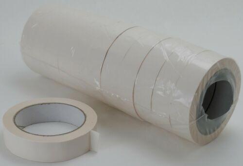 0,01€//1m 12x Klebeband Rollen Packband Paketband 25mm x 66m PVC100 weiß