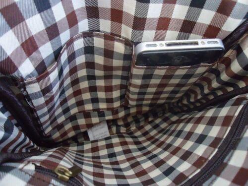 Genuine Leather Shoulder Satchel Bag handbag vintage tote man 11 Notebook 10 9