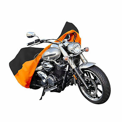 XL Sun proof Motorcycle Storage Cover For Harley Dyna Softail Sportster Cruiser
