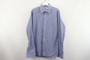 Charles-Tyrwhitt-Mens-15-33-Slim-Fit-French-Cuff-Microcheck-Plaid-Dress-Shirt