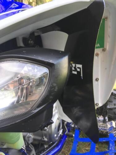 Yamaha Raptor 700 Air Scoops Radiator Scoops 700R Shrouds