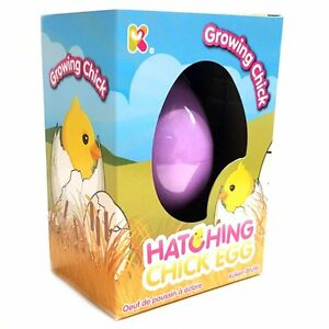 Chick hatching egg toy fun childrens pocket money toy easter image is loading chick hatching egg toy fun childrens pocket money negle Gallery