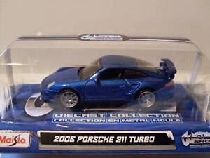 2006 Porsche 911 Turbo, Custom Shop, maisto 1:64,neu, embalaje original  </span>