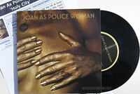 "JOAN AS POLICE WOMAN 7"" Holy City Vinyl single + PROMO Info sheet"