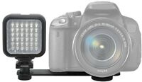 For Nikon D80 D90 D100 D200 D2h D2hs Led Light Kit With 2 Battery & Charger