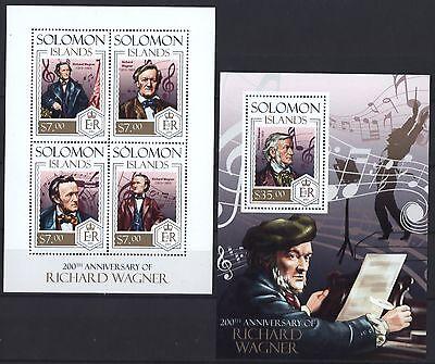 Music Composer Musique Einfach Zu Reparieren Gewissenhaft Salomoninseln Solomon 2013 Richard Wagner Musik Noten