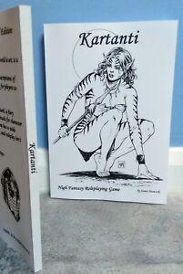 Kartanti Livret Signé Numéroté Limited 1st Edition Fantasy Jeu De Rôle-afficher Le Titre D'origine