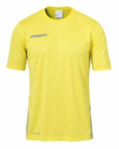 Activewear Tops Uhlsport Sport Football Soccer Training Mens Long Sleeve Jersey Shirt Top Crew N Men's Clothing