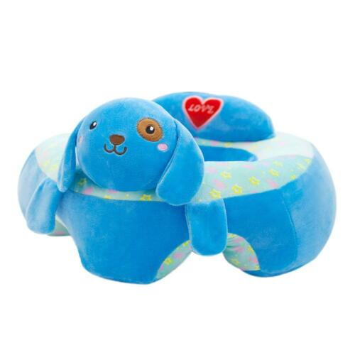 Kids Baby Support Seat Sit Up Soft Chair Cushion Sofa Plush Pillow Toy Armchairs