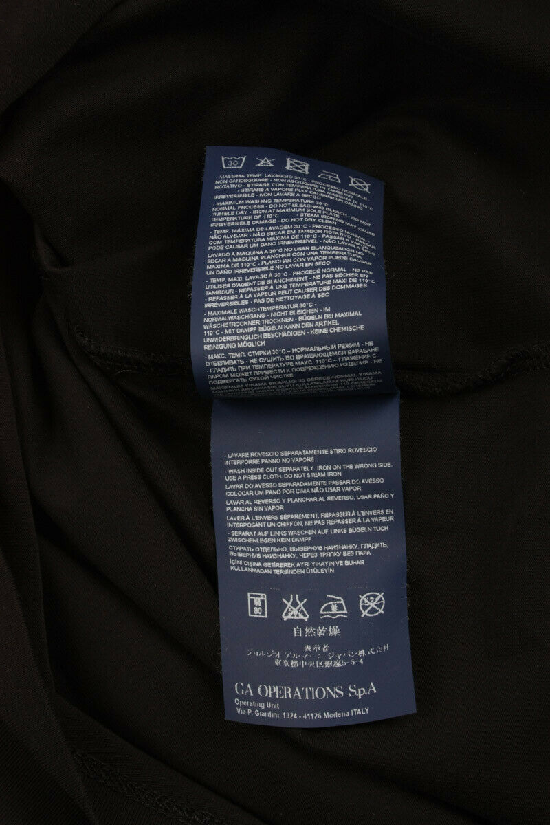 T shirt Maglietta Armani Jeans Sweatshirt Cotone Uomo Uomo Uomo Nero C6H01DA 12 fa12c6