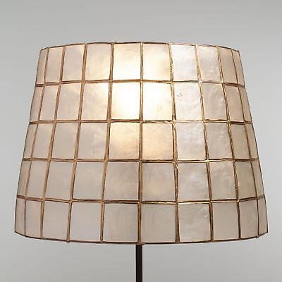Natural Capiz S Accent Lamp Shade W