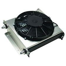 Derale 15870 Hyper-Cool Extreme 40 Row Remote Mount Fluid Coolers w/ Fan -8AN