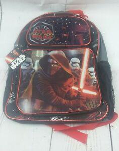 New-Star-Wars-Episode-7-The-Force-Awakens-Backpack-Kylo-Ren-Stormtroopers-Black