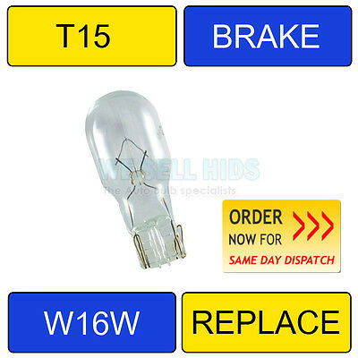 1 x Canbus 3535 T15 Halogen bulb 12V 16W LIGHT 585 921 w16w 12V clear 4300k
