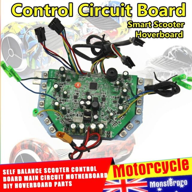 1x Balance Scooter Circuit Board Main Scooter Motherboard Replacement Part Set