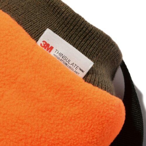 Realtree Edge Camo Reversible Hand Warmer Hunting Muff Muffler Orange