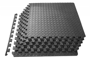 Image Is Loading Rubber Restaurant Floor Mats Waterproof Interlocking Home Gym