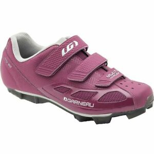 Louis-Garneau-Women-039-s-Size-11-Multi-Air-Flex-Cycling-Magenta-Bike-Shoes