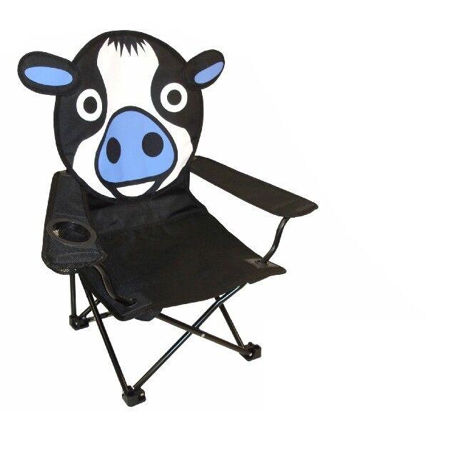 Camping de bel sol plage enfants chaise chaise de Camping camping motif vache d0cb6d