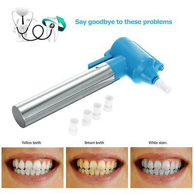 Electric Teeth Polish Pen Tooth Bleaching Cleaner Remover Whitening V6O9