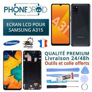 Bildschirm Komplett Incell LCD + Taktil Samsung A315 Mit Chassis + Tools,Lager