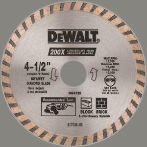 DEWALT-DW4725-High-Performance-4-1-2-Inch-Dry-Cutting-Continuous-Rim-Diamond-Saw