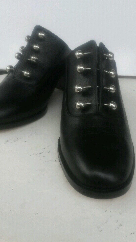 Rebecca Minkof Minkof Minkof Mujer Negro Zapatos Talla 8 Nuevo  estar en gran demanda