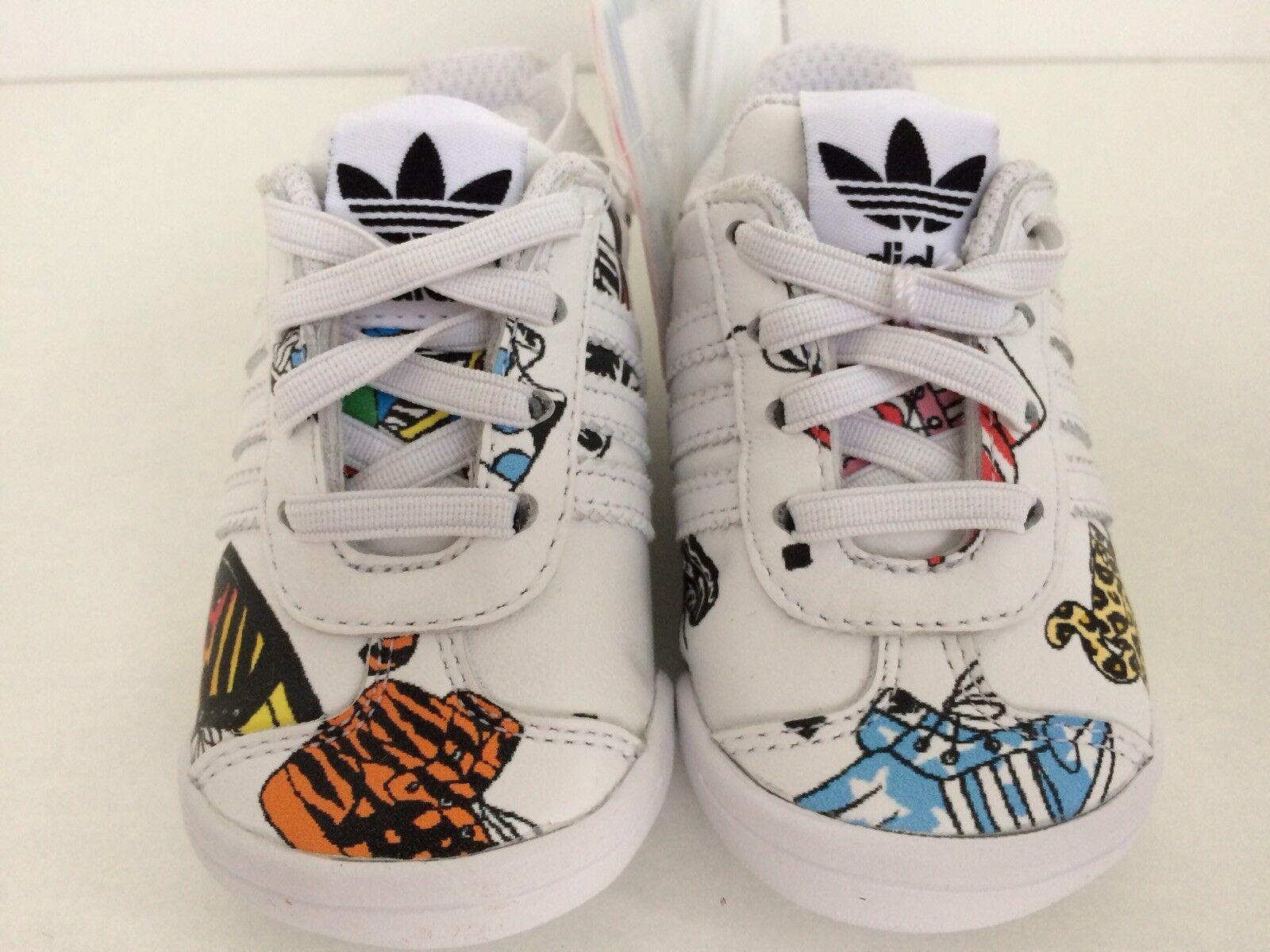 REGNO Unito misura 2k di Adidas Originals Jeremy da Scott Infant Neonato Scarpe da Jeremy ginnastica. d3655f