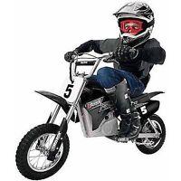Razor Mx350 Electric Motocross Dirt Rocket Scooter Bike Motorcycle Black