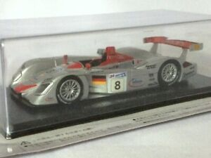 Audi-R8-2000-1-43-Resin-Model-Le-Mans-Cars-Collection-Vol-19-Hachette-SPARK