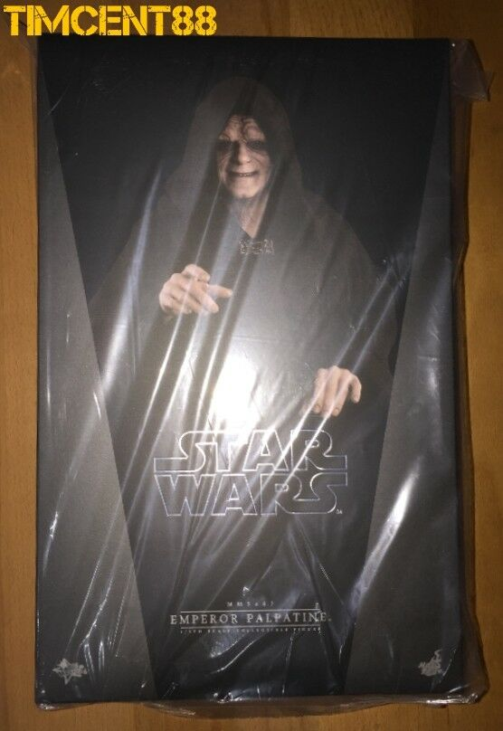 Ready Hot Toys MMS467 Star Wars VI Return Return Return of the Jedi 1 6 Emperor Palpatine New f8386f