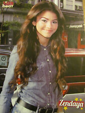 Zendaya, Louis Tomlinson, One Direction, Double Full Page Pinup