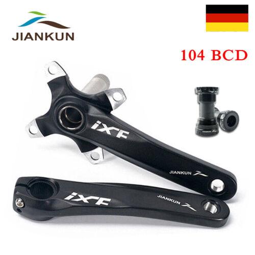 IXF 104//64 BCD Mountainbike Kurbel 10-Fach Tretlager Aluminium Kurbelgarnitur BB