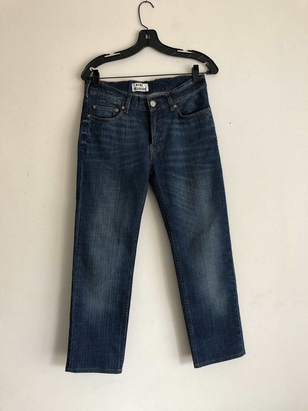 Acne Studio Ace Stretch Vintage Denim Jeans Size 29